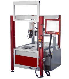 CNC-maskin FLATCOM serie M med servomotordrift