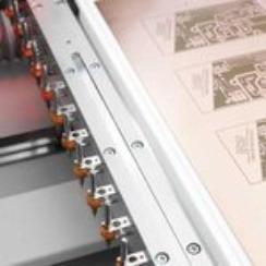 Inställningsramp för verktygsmagasinet