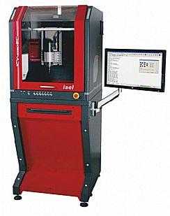 Isel-CNC-maskin ICV 4030EC med servodrift och stativ