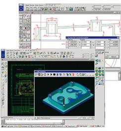 CAD/CAM-mjukvara isy-CAM 2.8