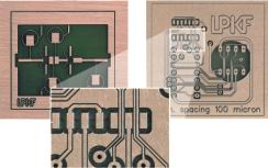 100 µm ledarbanbredd