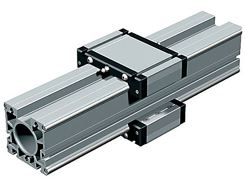 LFS-8-4: LFS-8-4 med 4 stålaxlar och två alu-slädar